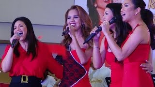 REGINE VELASQUEZ, REGINA OTIC, ATE REG & ANTON DIVA - Eheads Medley (Robinsons Manila)