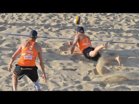 Brouwer/Meeuwsen (NED) vs. Huber A./Seidl Rob. (AUT) - Rotterdam - Men World Championships 2015
