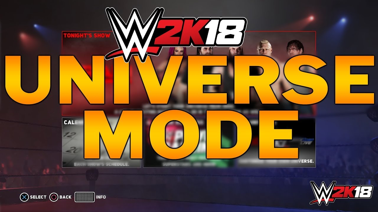 Image result for wwe 2k18 universe mode