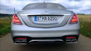 Mercedes-Benz S-Class 2018 first dynamic Test !!!