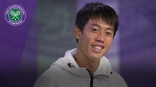 Wimbledon 2018: Kei Nishikori pre-tournament press conference