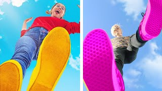 TRYING FUN AND CREATIVE PHOTO IDEAS FOR GIRLS || DIY Instagram Photo Hacks And Tricks by 123 GO!
