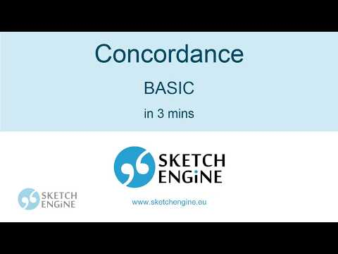 Concordance For Beginners