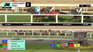 Marckie's Water wins Race 8 on March 5th, 2021 at Santa Anita Park.