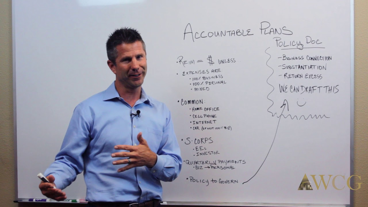 Accountable Plan Expense Reimbursement Form - WCG - Watson