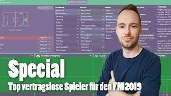 Football Manager 2019 - Top vertragslose Spieler für ablösefreie Transfers