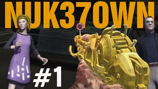 "GOLD RAY GUN MARK 2 - DOUBLE PACK-A-PUNCH! NUK37OWN ""Call of Duty Zombies"" Gameplay"