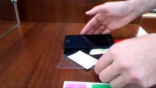 Защитное закаленное стекло для смартфона, обзор и рекомендации к наклеиванию(Обзор защитного стекла, комплектации на примере стекла для смартфона Asus Zenfone 5. Ссылка на товар - http://goo.gl/COE8AF..., 2015-09-24T15:10:48.000Z)