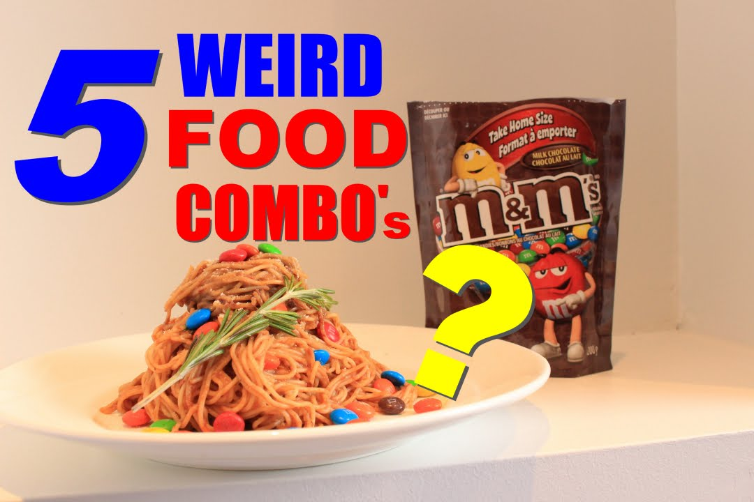 5 WEIRD Food Combination That People Eat!! | TASTE TEST ...