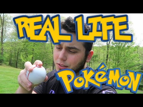 CATCHING A WILD POKEMON IN REAL LIFE!?
