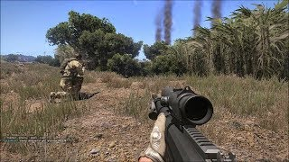 Turkish Spec Ops in Heavy Firefight ! Realistic Simulator Game on PC Arma 3