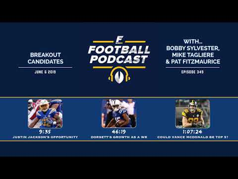Breakout Candidates for Fantasy Football 2019 (Ep. 349)