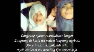 8ball - cewek rusak (lyrics)