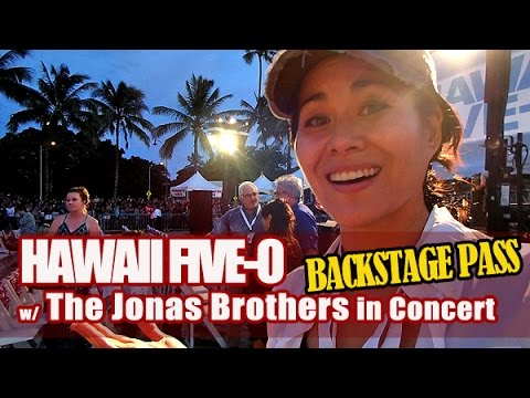 Hawaii Five-O Red Carpet Premiere (w/ Jonas Brothers) | Vlog #1