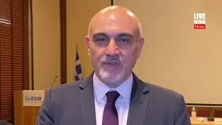 Δρ. Γιώργος Ξηρογιάννης-Διευθυντής του Τομέα Αναπτυξιακών Πολιτικών ΣΕΒ