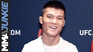 UFC on ESPN+ 13: Liu Pingyuan  media day interview