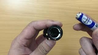 Đèn pin mini cầm tay siêu sáng Ultrafire SK68 pin Lithium, sạc USB, bóng Led 10w (mã DP149)