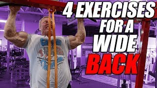 4 Exercise Workout | For A Wide Back