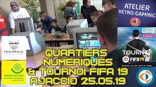 (EP79) Atelier Quartiers Numériques et tournoi FIFA 19 au Leclerc Baleone