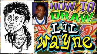 How To Draw A Quick Caricature Lil Wayne