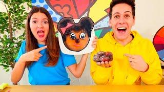 SLIME ART CHALLENGE 2! Dipingere con lo slime Topolino e Minnie!