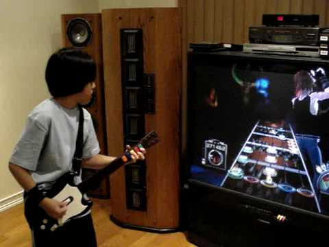 Guitar Hero 3 Through fire and flames Insane 11 Year old