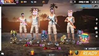Free Fire Live   Lets Play Together