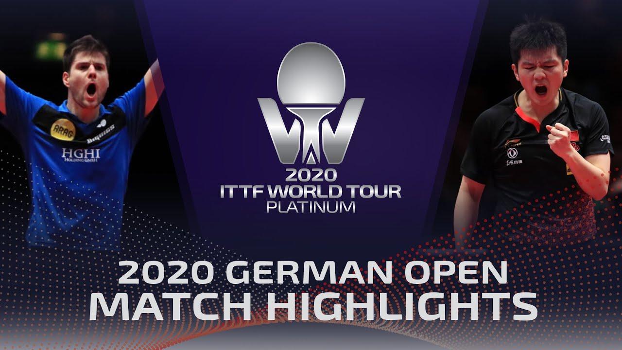 Download Dimitrij Ovtcharov vs Fan Zhendong | 2020 ITTF German Open Highlights (1/4)