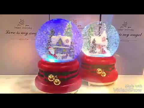 Christmas music Box snowflake