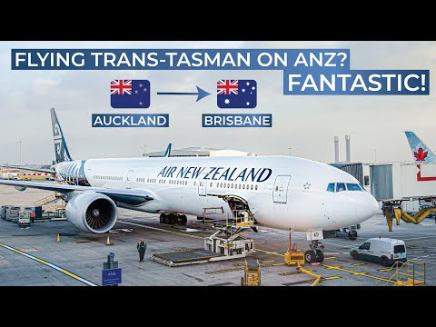 TRIPREPORT | Air New Zealand (ECONOMY) | Boeing 777-300ER | Auckland - Brisbane