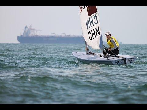 ISAF Sailing World Cup Qingdao - Laser Radial Medal Race
