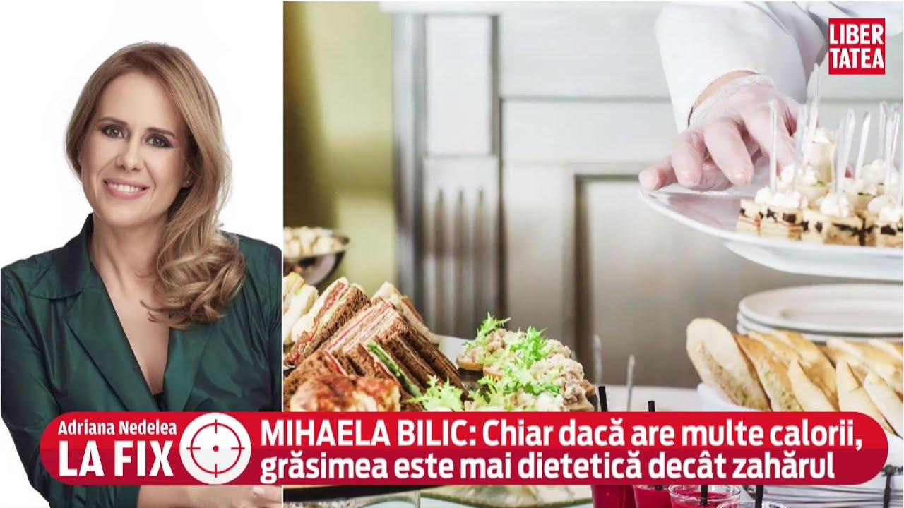 """Ce și cât mâncăm dacă stăm acasă? Dr. Mihaela Bilic: """"Doza face otrava"""""""