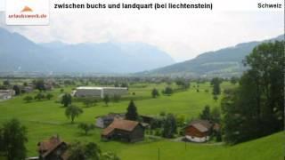 zwischen buchs und landquart (bei liechtenstein), Schweiz