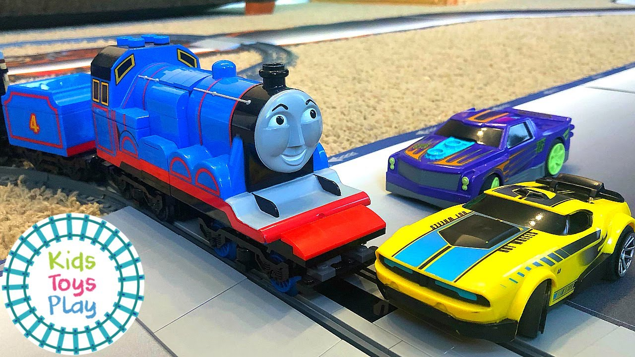 Lego Train Crashes | Hot Wheels Remote Control Cars