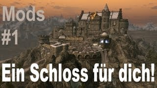 Repeat youtube video Skyrim Mods - Ein Schloss für dich! [Bluecreek Estate Mod] - Review