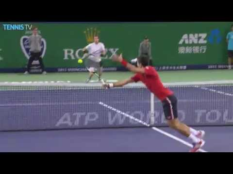 Crazy tennis from Novak Djokovic and Andy Murray - 2015 Shanghai Rolex Masters  SF