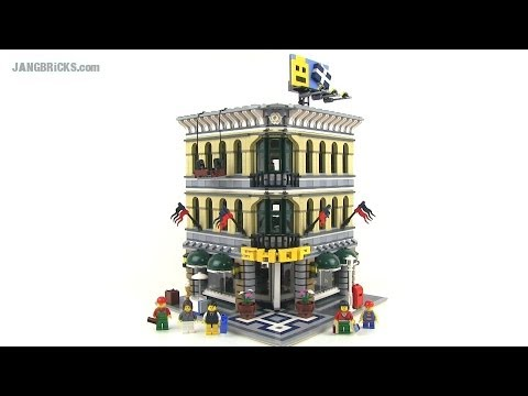 LEGO Creator Grand Emporium 10211 modular building Review!