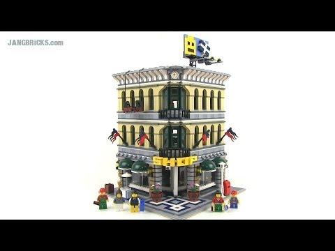 LEGO Creator Grand Emporium 10211 modular building Review!