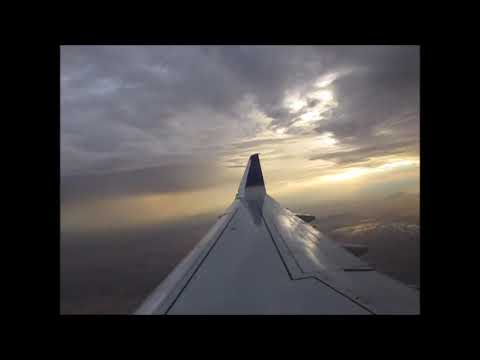 United Express E175 THUMP! landing in Tucson