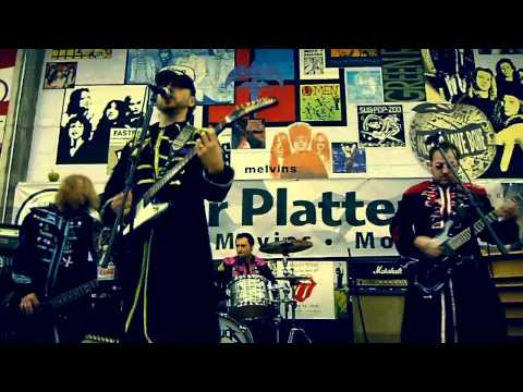 Beatallica - While My Guitar Deathly Creeps - Live in-store Seattle, WA 11/20/10