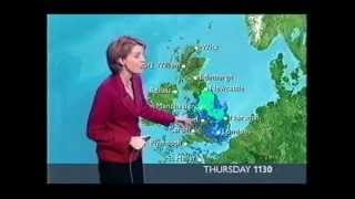 Repeat youtube video BBC Weather 24th  February 2005: Snow