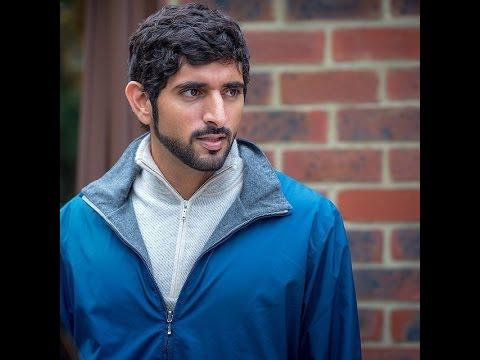 Prince Fazza (Sheikh Hamdan bin Mohammed bin Rashid al Maktoum) Loves Blue!