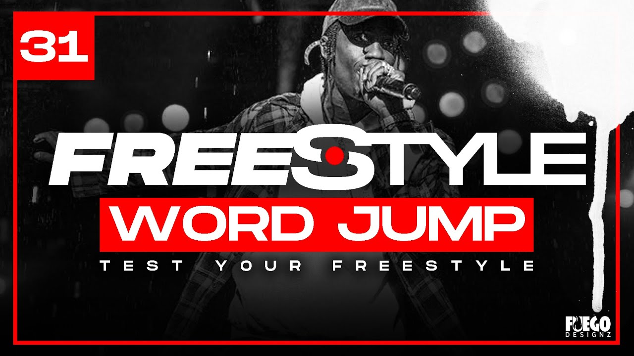 HOW TO FREESTYLE ? BEST GAME EVER | Word Jump Challenge