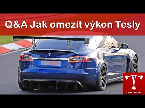 #144 Q&A Jak omezit výkon Tesly | Teslacek