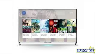 Sony   Smart TV LED 3D 4K Android KD 55X9005C
