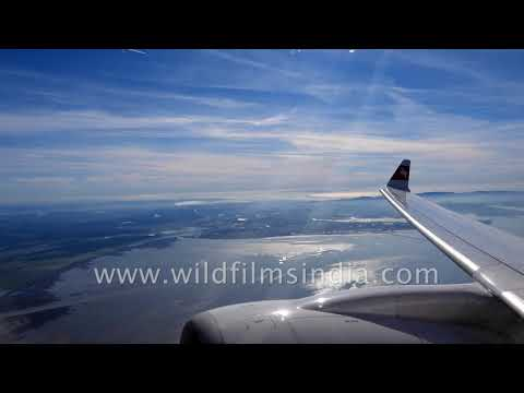 Swiss airplane flies