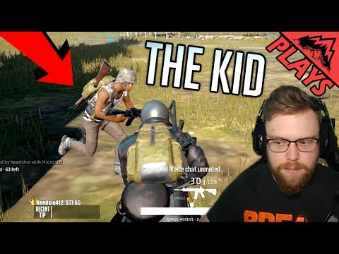 THE LITTLE KID - PlayerUnknown's Battlegrounds #52 (PUBG Random Squad Peek-a-Boob) StoneMountain64