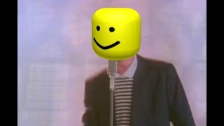 Never Gonna Give You Up but it's the Roblox death sound