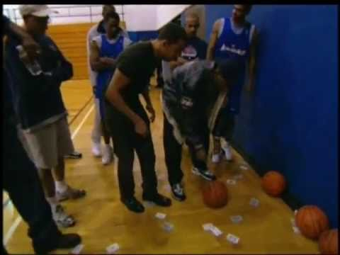 David Blaine - Basketball Card