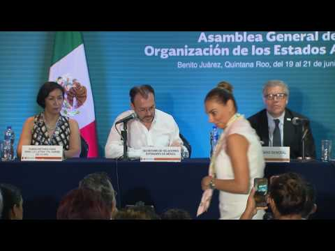 2017 General Assembly.  Opening Press Conference, June 19th, 2017.